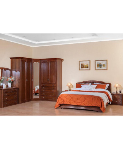 Спальня Орхидея, орех
