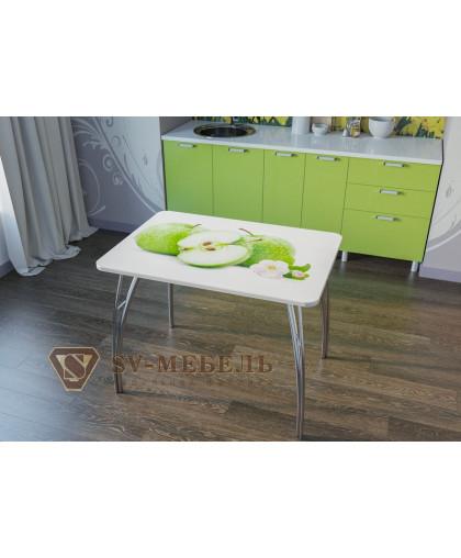 Стол кухонный Яблоки
